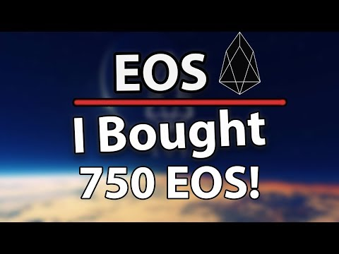 I JUST BOUGHT 750 EOS! IS A NEW ALL TIME HIGH COMING?