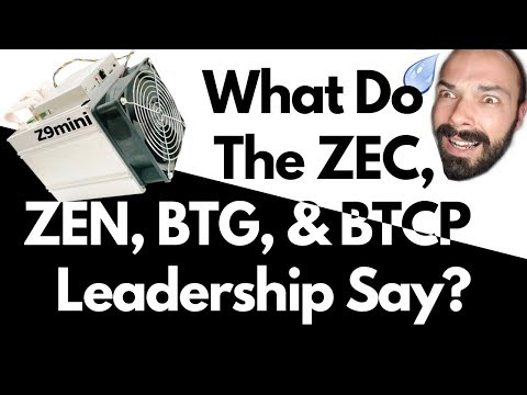 CRYPTO NEWS: Community & Leadership(?) Response to Equihash [ZEC] ASIC!