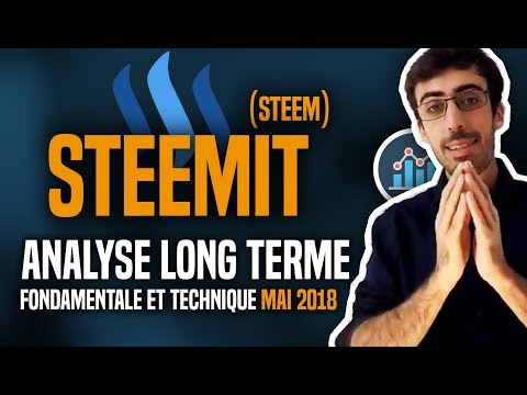 STEEM (Steemit) : Analyse long terme (fondamentale et technique) MAI 2018