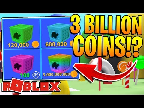 ROBLOX MINING SIMULATOR – 3 BILLION COINS CRATE INSANE OPENING! *OMG*