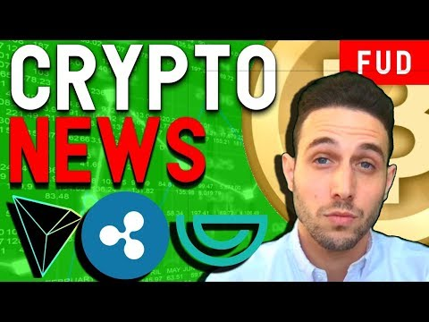 Crypto News: Altcoin Bull Run! Tron On Coinbase? Ripple Sued! IOTA Porsche $GVT $LN $BAT