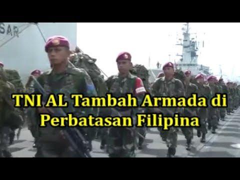 Hebooh!! TNI AL Tambah Armada di Perbatasan Fil1pin4.. wah Ada apa ya..??