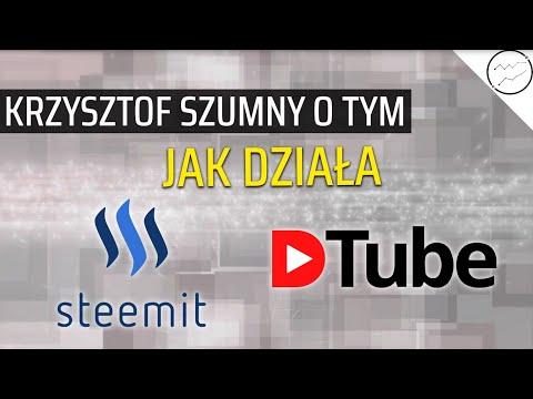 Jak działa Steemit oraz DTube i jak na nich zarobić? Podsumowanie #8 z Krzysztofem Szumnym