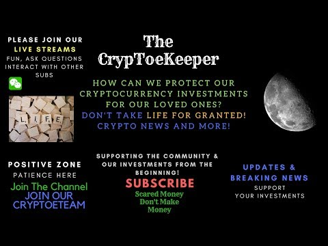 How Can We Protect Ourselves From Losing All our CRYPTOCURRENCY Investments! What can you do
