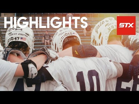 Yale vs U Penn Lacrosse Highlights // STX // Ivy Tourney