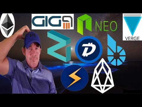 """McAfee Tweets XVG! – SEC """"ETH not security"""" – GiG9 ICO – Smart Banknotes NEO EOS STORM ZIL DGB"""