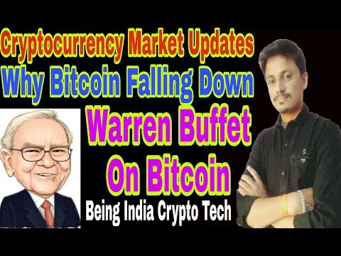 Bitcoin Falling Down? Warren Buffett On Bitcoin | cryptocurrency market updates