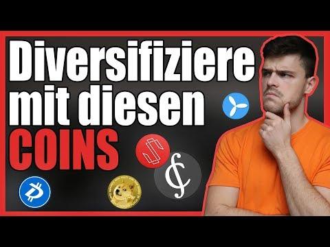 5 Coins zum diversifizeren | Dogecoin, TE-Food, Credits, Substratum, Digibyte