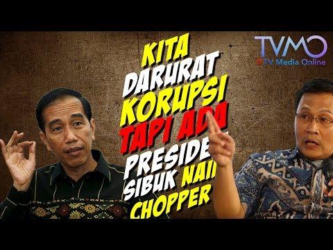 "Ketua DPP PKS Mardani Protes KERAS: Kita Darurat Korupsi, tetapi Ada Presiden Sibuk Naik ""Chopper"""