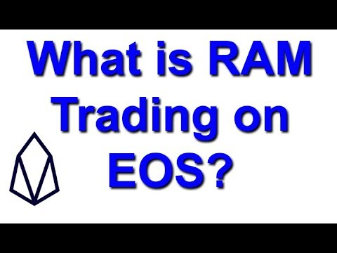 What is RAM Trading on EOS?