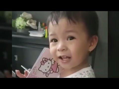 """Nastusha Olivia Alinskie Geleng geleng Kepala Nyanyi Kring"""" Ada Sepeda…"""