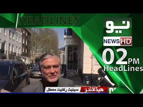Neo News Headlines – 02:00PM   Neo News   08 May 2018