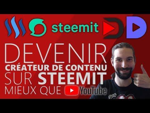 STEEMIT DEVIENDRA LE YOUTUBE DE DEMAIN ?