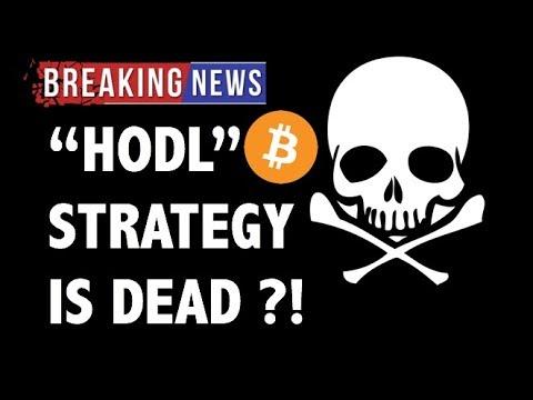 "CRYPTO: IS ""HODL"" DEAD?! CRYPTOCURRENCY,BITCOIN,LITECOIN,ETHEREUM,XRP RIPPLE,TRON TRX,EOS,BTC NEWS"