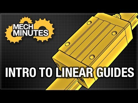 INTRO TO LINEAR GUIDES – LINEAR MOTION #1 | MECH MINUTES | MISUMI USA