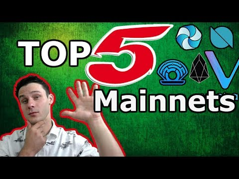 Top 5 | Crypto Mainnet Releases | $ONT $EOS $HPB $PRL $VEN | Crypto News Update