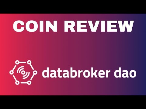 DataBroker DAO (DTX) – Coin Review | The First IoT Data Marketplace!