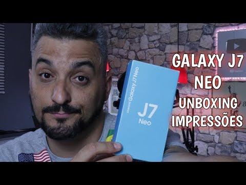 J7 NEO Um GALAXY J RENOVADO com TV DIGITAL e RÁDIO FM UNBOXING Samsung 2018