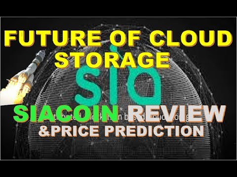 Siacoin SC Review and Price Prediction, The Future of Cloud Storage
