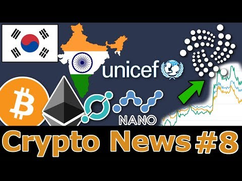 Tolle IOTA NEWS, ICONest Launch & UNICEF nutzt KRYPTO MINING | #8
