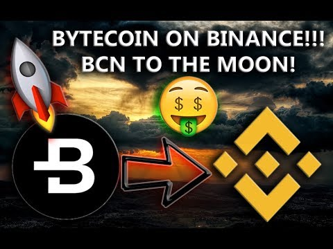 BYTECOIN LISTED ON BINANCE!!! – GOOD TIME TO BUY BCN???