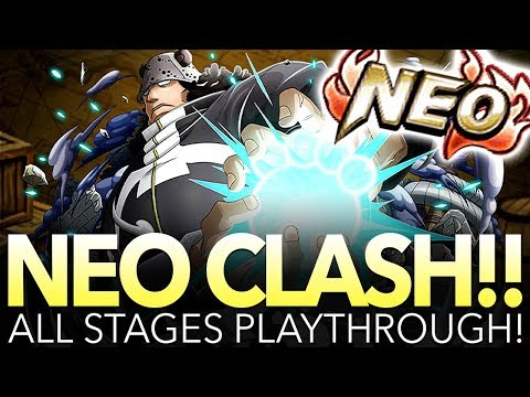 NEO CLASH!! TYRANT KUMA! ALL STAGES PLAYTHROUGH! (One Piece Treasure Cruise – Global)