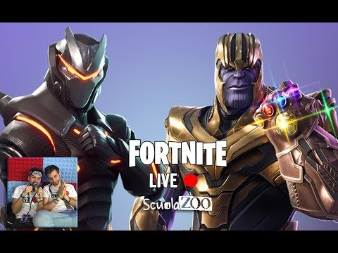 FORTNITE #Live – Che Thanos sia con noi!!