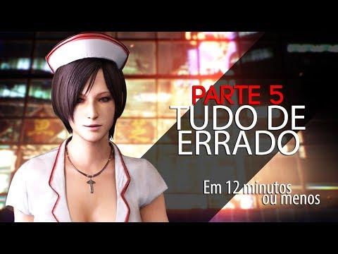 ESTÁ TUDO ERRADO COM: RESIDENT EVIL 6 – 5/5 (ADA)