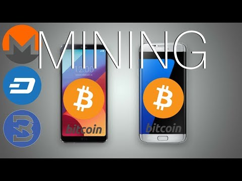 Mining Cryptocurrency on Smartphone (DASH, MONERO, BURSTCOIN) SAMSUNG Galaxy S7 Edge & LG G2