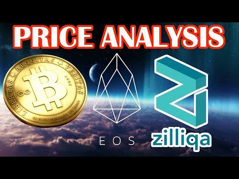 EOS to break all time highs? Should you buy Zilliqa (ZIL)? Price analysis on EOS, BTC, ZIL, ETH