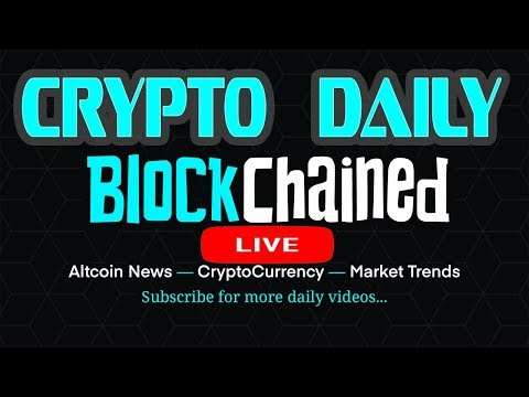 CryptoDaily LiveStream! Tron, Zillaqa, Verge, Typerium, Ontology & Market Trends. Join the chat!