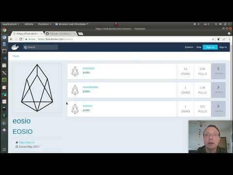 EOS Smart Contracts Development Environment set up with Docker