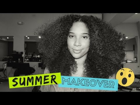 Summer Curly Makeover – GOING BLONDE?! | All Things Ada