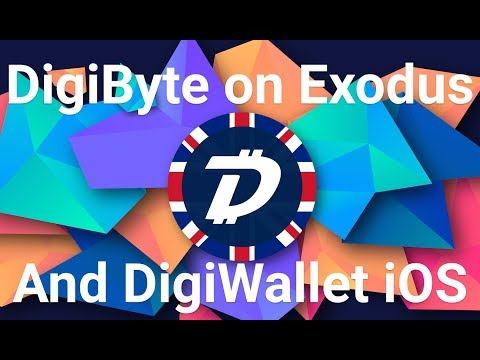DigiByte on Exodus Wallet and DigiWallet iOS