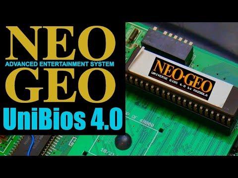 SNK Neo Geo Unibios – 4.0 Update!