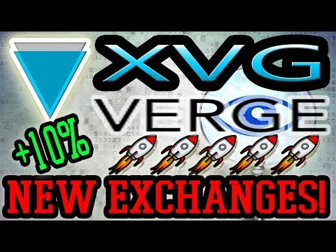 Verge (XVG) New Exchange + Token Pay (TPAY) News!