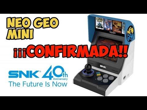 SNK anuncia oficialmente neo geo mini ¿merecerá la pena?
