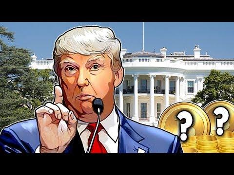 Дональд Трамп Создаст Новый Биткоин. Bytecoin Соскамился. Прогноз Bitcoin Май 2018
