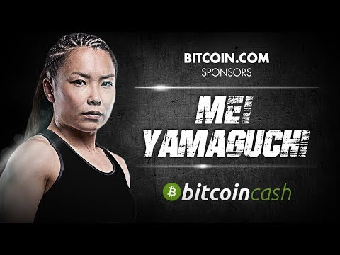 Mei Yamaguchi Meets Roger Ver | Bitcoin.com Sponsors MMA Fighter!
