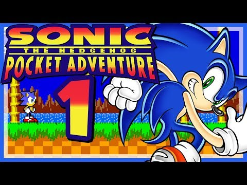 SONIC POCKET ADVENTURE # 01 🦔 Neo South Island, Secret Plant & Cosmic Casino Zone [HD60]