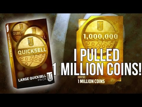 NO ******* WAY! I PULLED A 1 MILLION COIN QUICKSELL! OMG! ::-XBOX ONE Madden 16 Ultimate Team