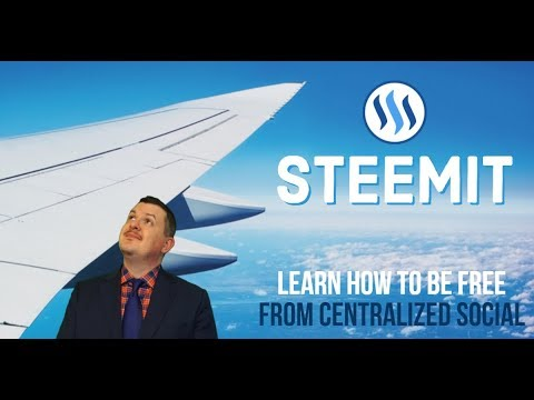 SteemIt Training – Getting Started – Becoming Free From Centralized Social Media