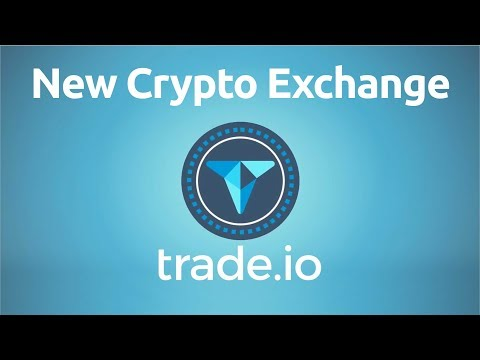 Trade.io – Upcoming Cryptocurrency Exchange with Customizable UI!