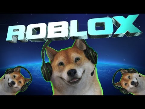 """Roblox game time!""""🐕Doge squad inbound!🐕 """""""