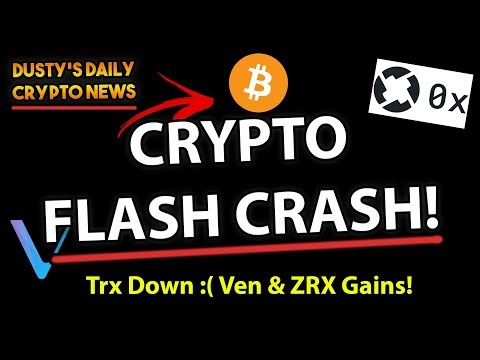 [DDCN#4] Tron & Other Cryptos Are Falling!! Fundstrat Sees BTC At $36k, VEN & ZRX Make Gains!