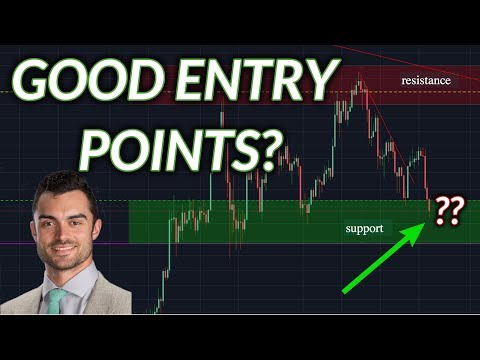 Are These Good Crypto Entry Points? BTC, ETH, BCH, LTC, EOS, ADA, XRP