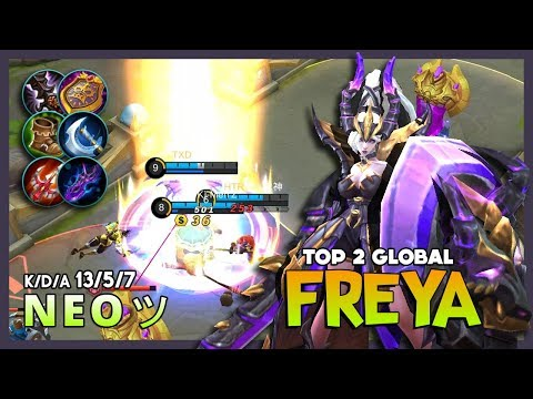 You Really Forget About Me? Dragon Hunter Still Here! N E O ツ Top 2 Global Freya ~ Mobile Legends