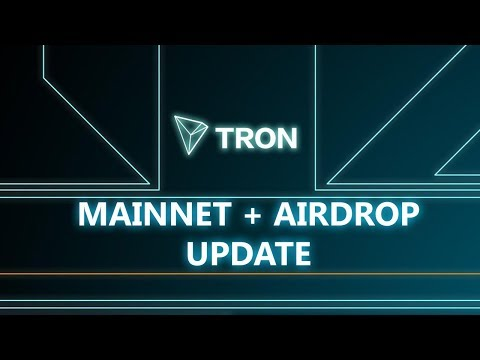 TRON Coin Swap supported by Binance – Tron Mainnet Update – Airdrop complete
