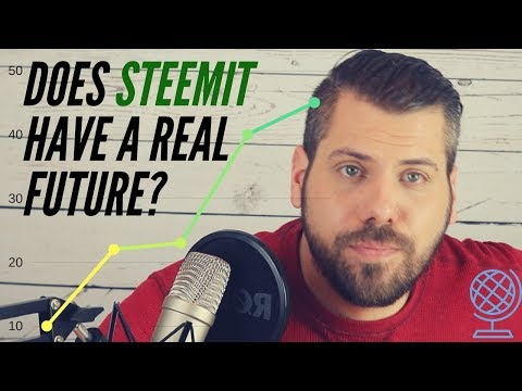 Does Steemit have a REAL Future!?