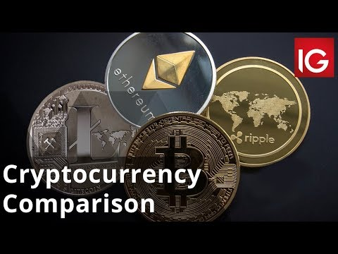 Bitcoin vs Ethereum vs Ripple vs Litecoin | Cryptocurrency Comparison